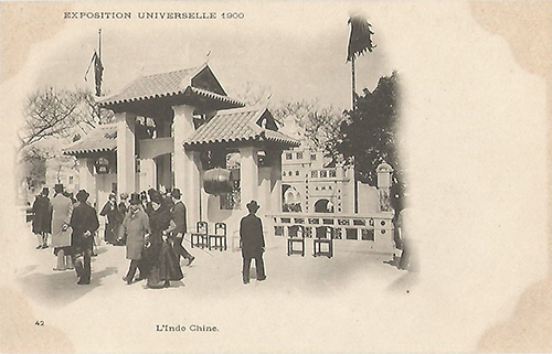 1900 pavillon indochine